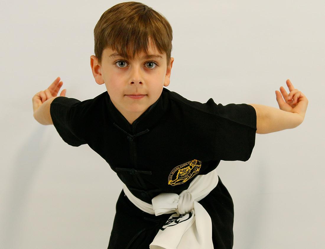 Ecole Wuxing Kung Fu Wushu Enfant Romain Aigle